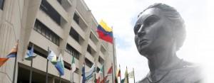 Fachada del Tribunal Supremo de Justicia (TSJ). Caracas, 24-01-2014 (NELSON CASTRO / EL NACIONAL)